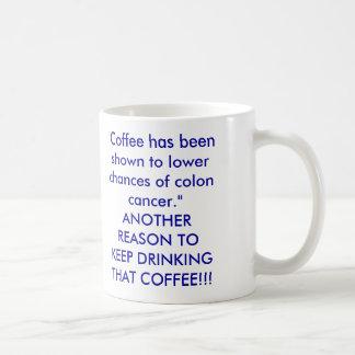O café foi mostrado a umas mais baixas possibilid caneca
