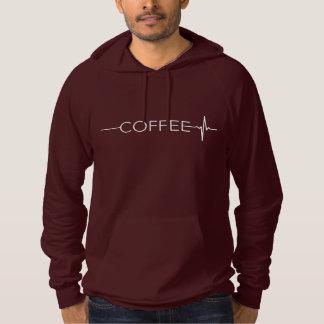 O café traz a vida moletom com capuz