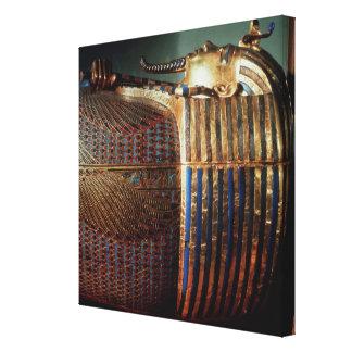 O caixão mais íntimo de Tutankhamun Impressão Em Canvas