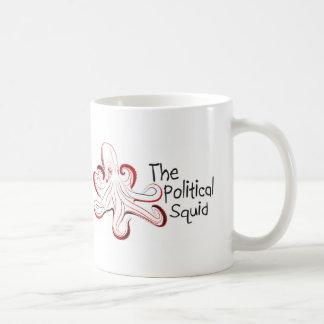 O calamar político caneca de café