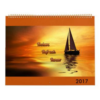 O calendário do amante tropical 2017
