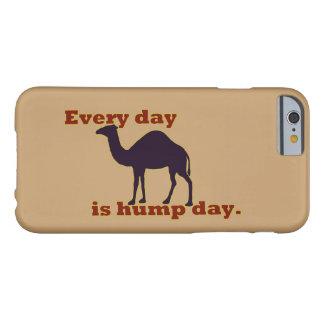O camelo cada dia é dia de corcunda capa barely there para iPhone 6