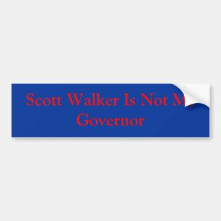 O caminhante de Scott não é meu governador Adesivo Para Carro