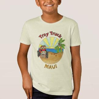 O caminhão de Troy explora Maui Camiseta