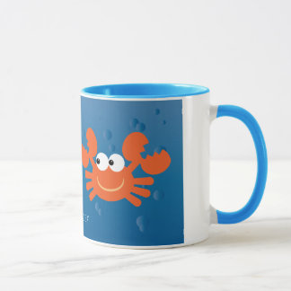O cancer bonito Crabs o costume do sinal do Caneca