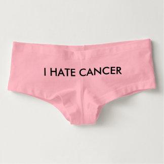 O cancer suga cueca feminina