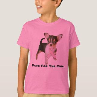 O cancro da mama da chihuahua caçoa o t-shirt