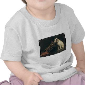 O cão do vintage t-shirt