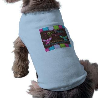 O cão fino projeta a grande camiseta de cão camisa sem mangas para cachorro