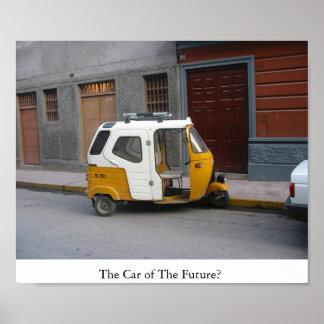 O carro do futuro? pôsteres