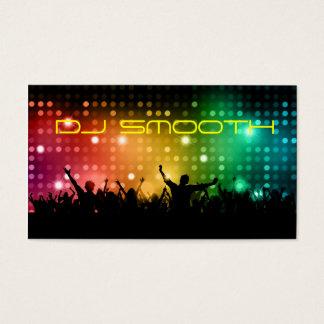O cartão de visita do DJ