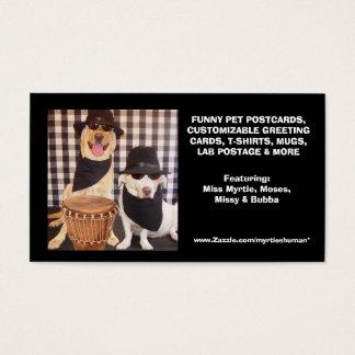 O cartão de visita do ser humano de Myrtie