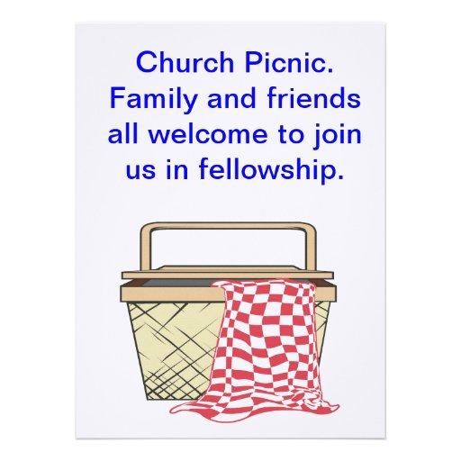 O cartão do piquenique/convida convite