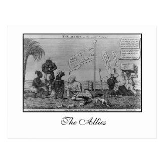 O cartão dos aliados
