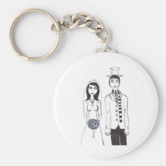 O casamento assustador chaveiro