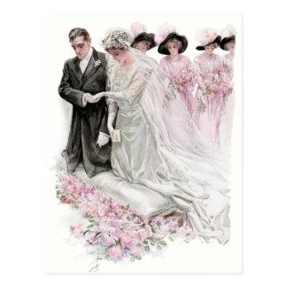 O casamento cartão postal