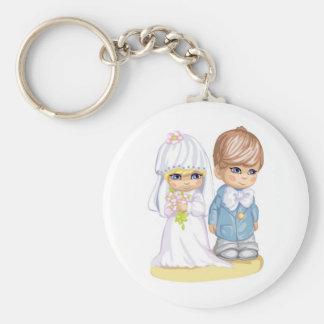 O casamento da criança veste acima em segundo o de chaveiro