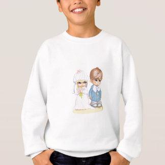 O casamento da criança veste acima em segundo o tshirts