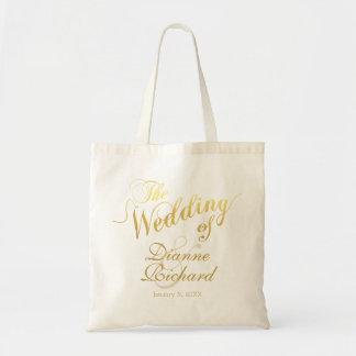 o casamento de… (nomes feitos sob encomenda) bolsa tote