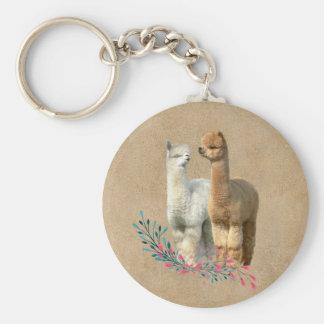 O casamento do país da alpaca favorece o chaveiro