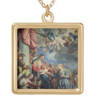 O casamento místico de St. Catherine Bijuterias Personalizadas