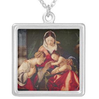 O casamento místico do santo Catherine, 1505/8 Colar Personalizado