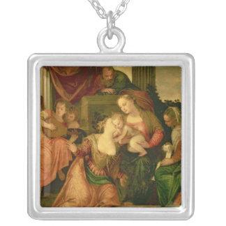 O casamento místico do santo Catherine Bijuteria
