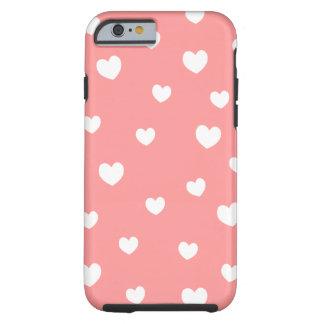 o caso de queda do iPhone 6 dos corações escolhe Capa Tough Para iPhone 6