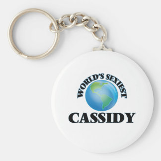 """O Cassidy o mais """"sexy"""" do mundo Chaveiros"""