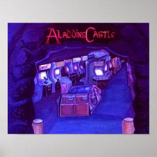 O castelo de Aladdin Posteres
