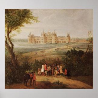 O castelo de Chambord, 1722 Posteres