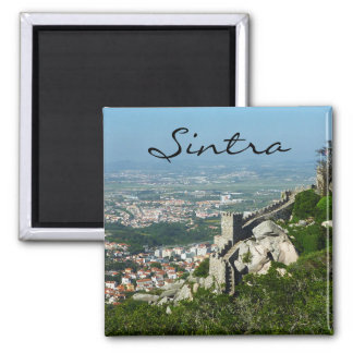 O castelo de Sintra do amarra o ímã Imã De Geladeira
