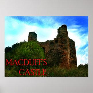 o castelo dos macduff poster