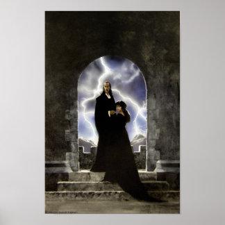 O castelo preto posteres