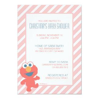 O chá de fraldas de Elmo convida Convite 12.7 X 17.78cm