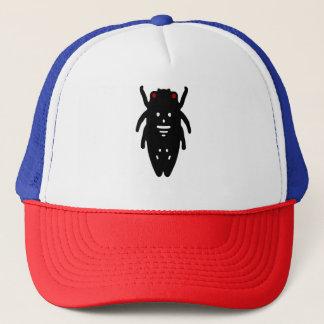 O chapéu inevitável do camionista do logotipo do boné