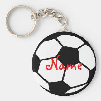 O chaveiro personalizado do futebol adiciona seu