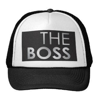 O chefe boné