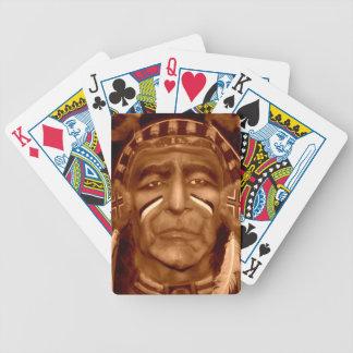 O chefe jogo de carta