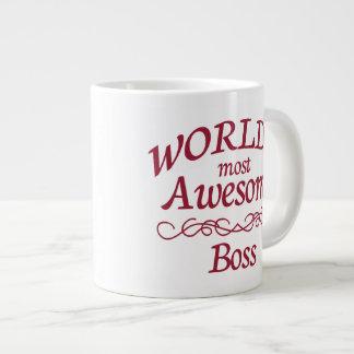 O chefe o mais impressionante do mundo caneca de café muito grande