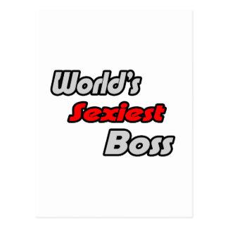 """O chefe o mais """"sexy"""" do mundo cartao postal"""