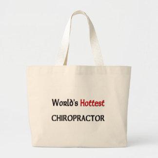 O Chiropractor o mais quente dos mundos Bolsa De Lona