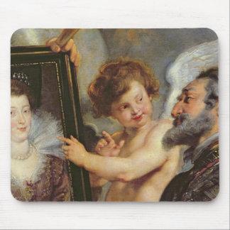O ciclo de Medici: Recepção de Henri IV Mouse Pad