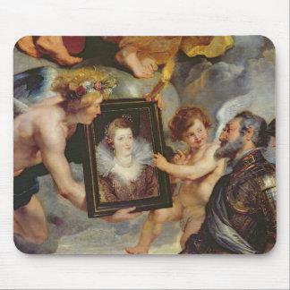 O ciclo de Medici: Retrato de recepção de Henri IV Mouse Pad