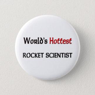 O cientista o mais quente de Rocket dos mundos Bóton Redondo 5.08cm