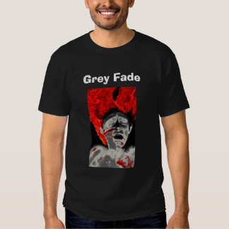 O cinza desvanece-se camisa da fornalha camiseta