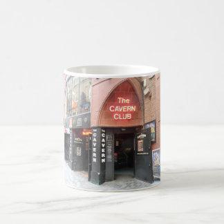 O clube da caverna na rua do Mathew de Liverpool Caneca De Café