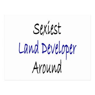 """O colaborador o mais """"sexy"""" da terra ao redor cartões postais"""