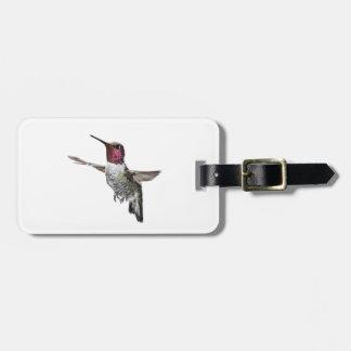 O colibri de Anna Etiqueta Para Mala