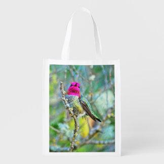 O colibri de Anna Sacola Ecológica Para Supermercado